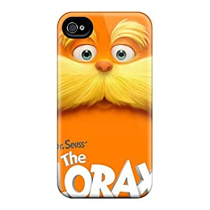 LJF phone case Case Cover Dr Seuss The Lorax/ Fashionable Case For Iphone 4/4s