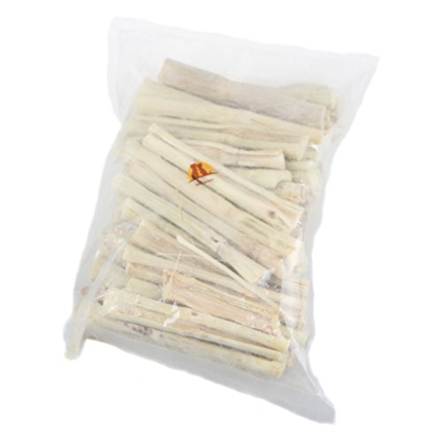 Emours Natural Bamboo Treat Teeth Chews for Rabbits Chinchilla Guinea Pigs Sugar Gerbils and More Small Pets