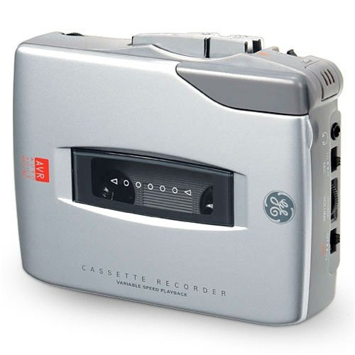 Electric Handheld Cassette Recorder GE