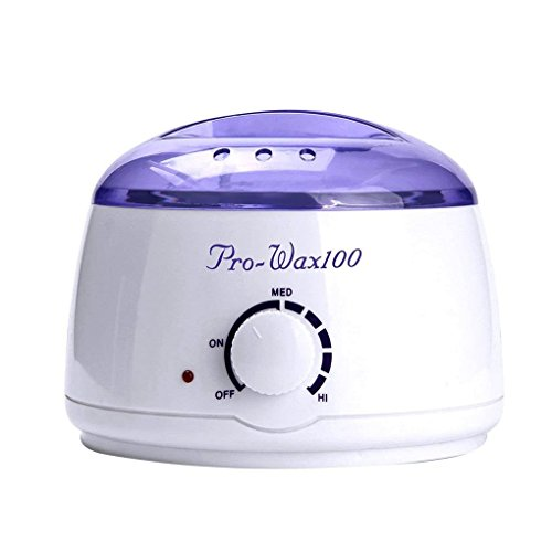 OmkuwlQ Professional Warmer Wax Heater Mini SPA Hand Epilator Feet Paraffin Wax Rechargeable Machine Body Depilatory Hair Removal Tool