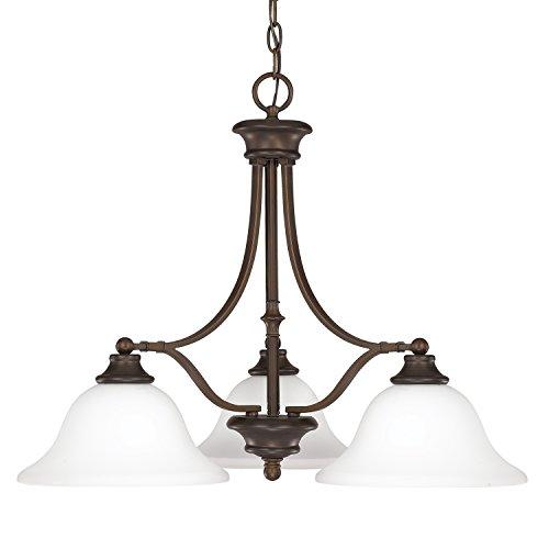 Belmont Outdoor Chandelier - Capital Lighting 3413BB-237 Three Light Chandelier
