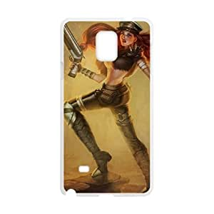 League of Legends(LOL) Miss Fortune Samsung Galaxy Note 4 Cell Phone Case White Phone Accessories LK_772708