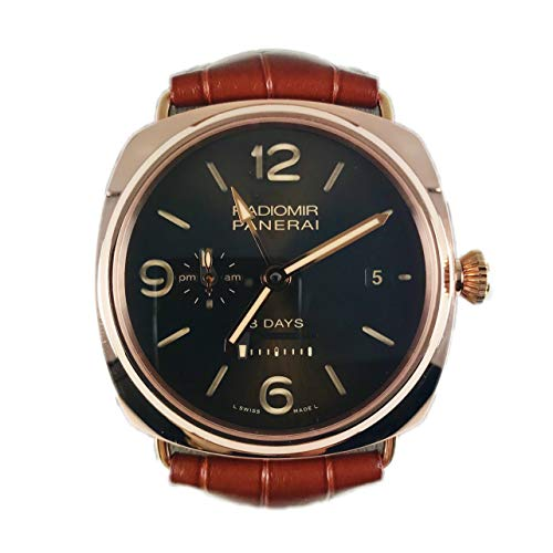 Panerai Radiomir 8 Day GMT Oro Rosso PAM 00395 - Certified Pre-Owned