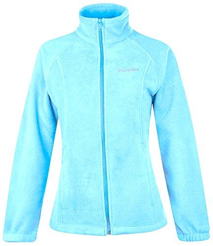 Columbia Sportswear Women's Plus Sawyer Rapids 2.0 Fleece Full Zip Jacket SKY BLUE (3X) (Womens Columbia Sportswear Plus)