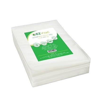EZVac Vacuum Seal Food Storage Bags. Quart Size (8u0026quot; x 12u0026quot;)  sc 1 st  Amazon.com & Amazon.com: EZVac Vacuum Seal Food Storage Bags. Quart Size (8
