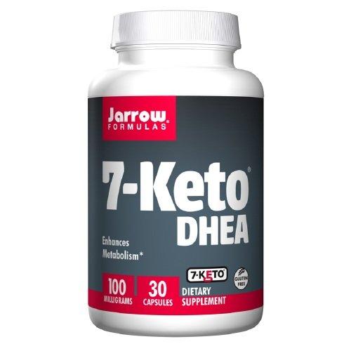 Jarrow Formulas 7-Keto DHEA 100mg Capsules, 30 EA-