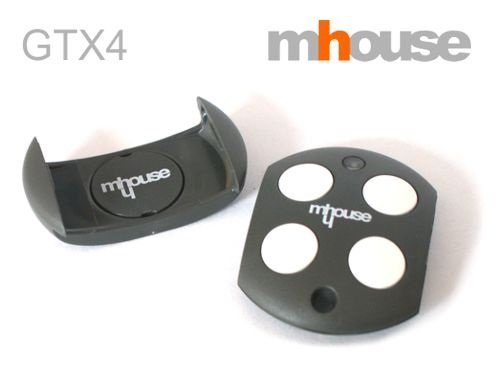 MHOUSEGtx4 Remote Control Transmitter 433,92 Mhz 4-Channel. Fully Compatible WithTx4,Mt4 Moovo,Tx3