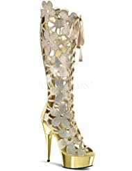 Pleaser Womens Delight 600-46 Boots