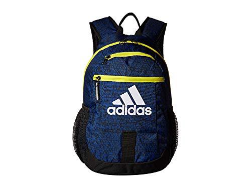 adidas Unisex Creator Backpack (Little Kids/Big Kids) Collegiate Royal Dapple/Shock Yellow/Black One Size