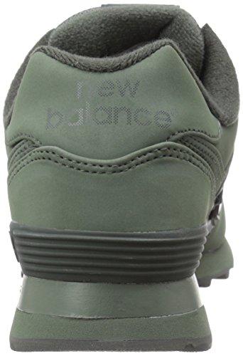 Zapatillas de deporte para hombre ML574 CHB Dark - Grey multicolor - Unbekannt