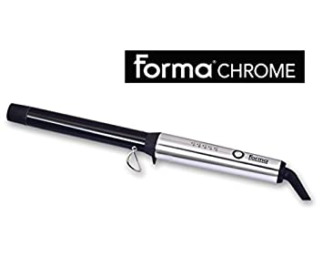 Turbo Power Forma Chrome Curling Wand (TT125 – 1 inch)