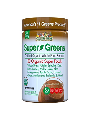 Country Farms Supergreens Delicious Chocolate