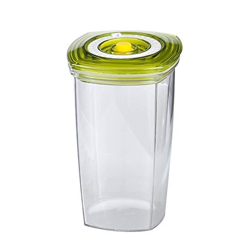 Orange Juice Protein Shake - Vacucraft Airtight Juice Storage Container with Lid and Pump For Orange Juice, Coffee, Smoothie, Protein Shake + More