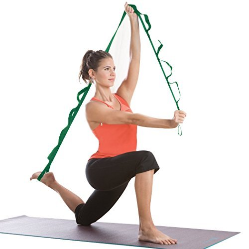 Gym Fitness Yoga Multi-Grip Stretch Strap