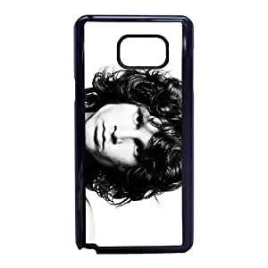 Samsung Galaxy Note 5 Phone Case Black Jim-Morrison NLG7825623