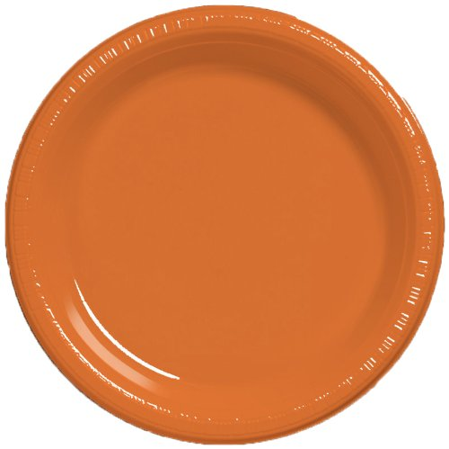 Creative Converting Plastic Banquet Sunkissed