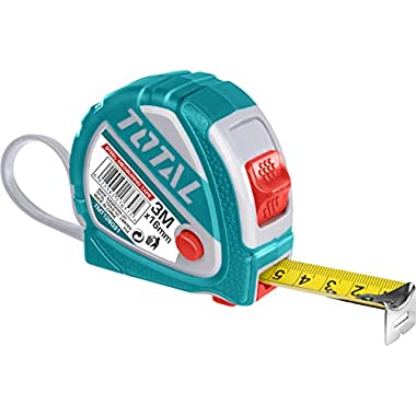 MR LIGHT TOTAL Iron Steel Measuring Tape, 3 m x 16 mm, Multicolour 7