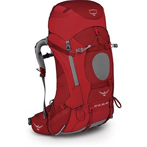 Osprey Ariel 55 Womens Hiking Backpack Medium Picante Red [並行輸入品] B07DVPPJXZ