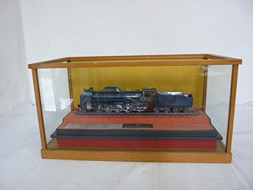 ■D51型 蒸気機関車 1/70 鉄道模型 金属ダイキャスト製 ケース付 昭和レトロ 重厚感 オブジェ■ B07RXTMBHD