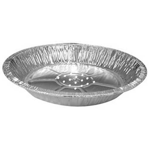 Handi Foil of America 8 inch Perforated Pie Pan -- 500 per case. by Handi-Foil