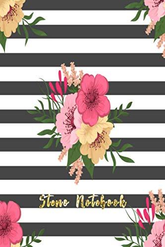 (Steno Notebook: Pitman Shorthand Book Steno Notebook For Steno Writing Journal Flower Theme (Gregg Ruled Notebook Journal))