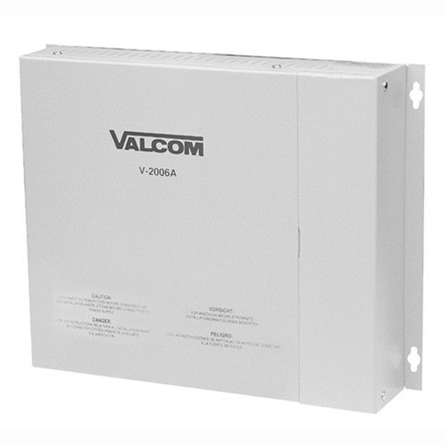 Valcom V-2006A One Way 6 Zone Page Control with Built in Power