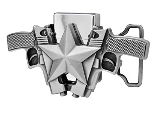 Silver Guns Lighter Buckle LT 018BR product image