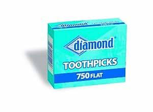Diamond Flat Toothpicks 750ct