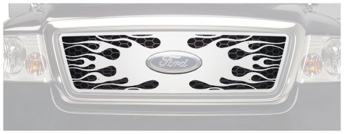 Putco 89142 Flaming Inferno Mirror Stainless Steel Grille