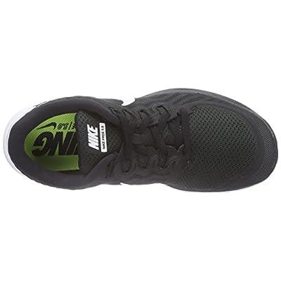 Nike Women's Free 5.0 BlackWhiteDark GreyDv Grey Running