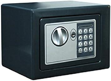Btv promo - Caja fuerte -2 170x230x170 negro: Amazon.es: Bricolaje y herramientas