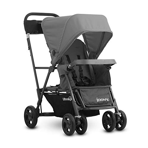 - JOOVY Caboose Ultralight Graphite Stroller, Gray
