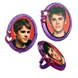 Justin Bieber Cupcake Rings – Set of 12, Health Care Stuffs