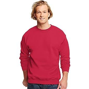 Hanes Printproxp Ultimate Cotton Crewneck Sweatshirt, Deep Red , Small
