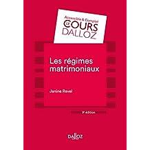 Les régimes matrimoniaux (Cours) (French Edition)