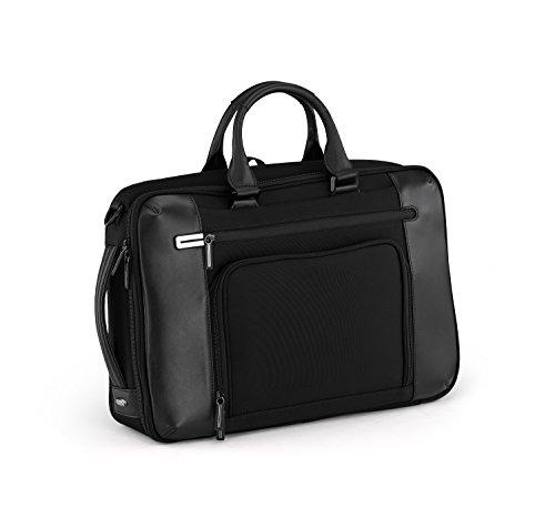 Halliburton Black Briefcase Zero (Zero Halliburton PRF 3.0 - Small Three-Way Briefcase, Black, One Size)