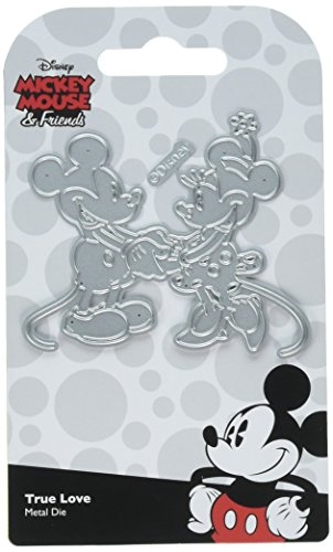 Character World True Love Disney Mickey & Minnie Mouse Die Set