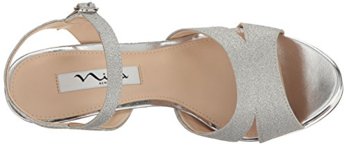 Shara Dress Yy Nina Sandal Silver Women's nPHwxq518a
