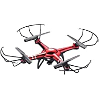 Cloud Rider HD 2.0 Remote Control Drone with Built-In HD Camera in Red