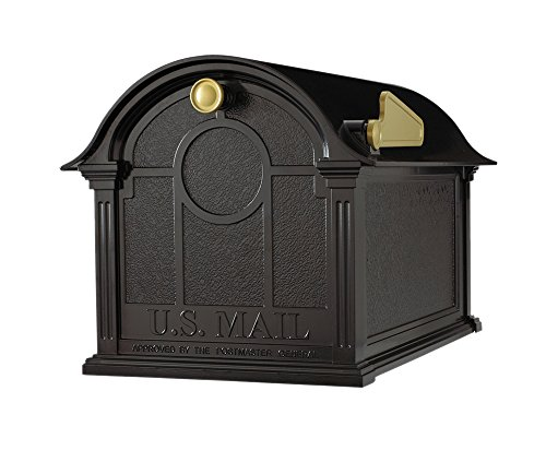Whitehall Products Balmoral Mailbox  Black