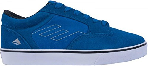Emerica Skate Shoes -- JINX Youth SMU Kids -- Royal Blue, Schuhgrösse:32.5