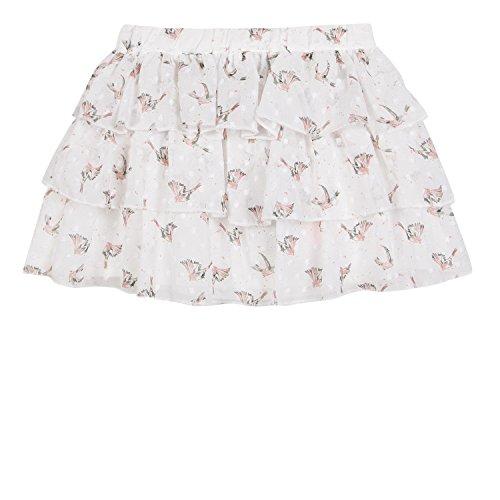 bianco Girl's Skirt sporco Bianco 3 Mele PI5xEwqBa