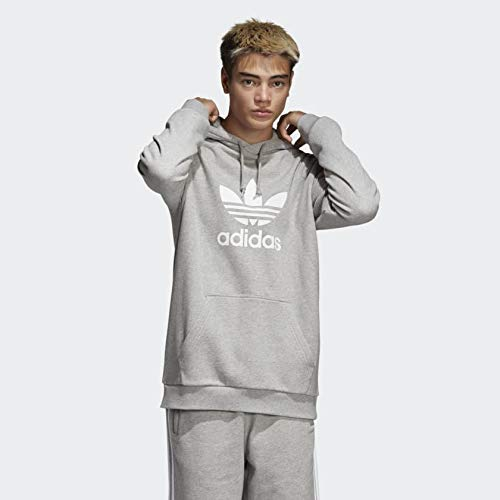 adidas hoodie trefoil uomo