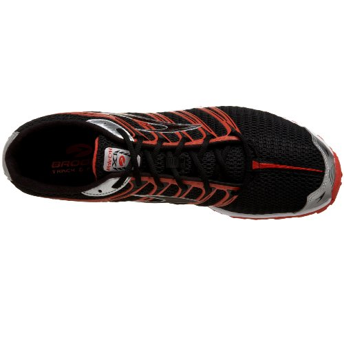 Brooks Mens Running Shoe Scarpa Da Atletica Spikeshoe Marca 11 In Colore Nero