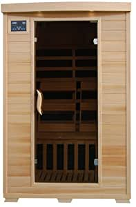 2-Person Infrared Sauna w/ Carbon Heaters