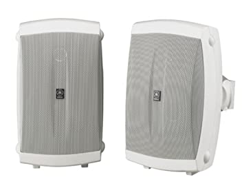 Yamaha NS AW150WH 2 Way Indoor Outdoor Speakers Pair White