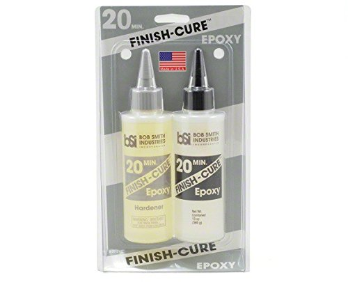 Finish-cure 20min epoxy 13oz Bob Smith Ind.