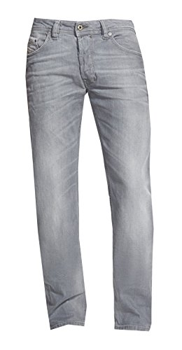 Diesel Men SAFADO Regular Slim-Straight Jeans (27X30, 0839N) (Diesel Mid Rise Jeans)