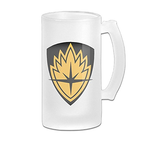 Galaxy Badge Symbol Grind Beer Glass Mug White (Starbucks Sets Uk Gift)