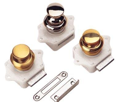 Sea-Dog Line Push Button Rim Latch, push button rim latch brass